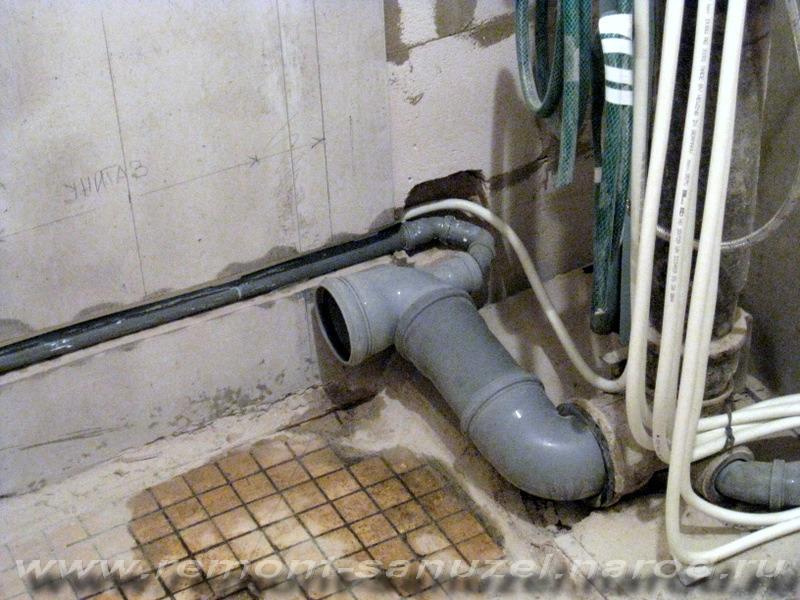 Как правильно сделать канализацию для унитаза