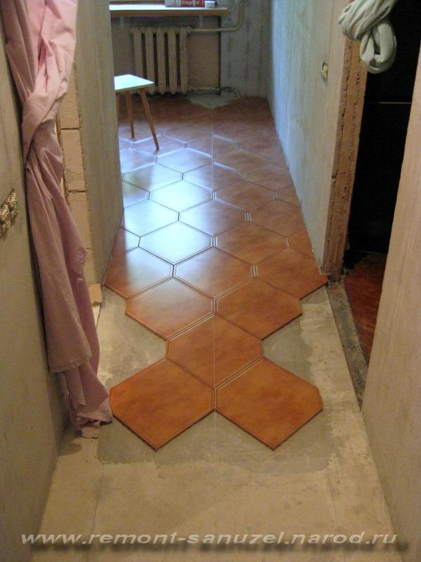 плитка для пола на кухню и в коридор Саль